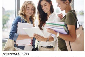 Iscrizioni al PNSD